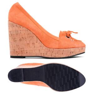 Mocasin Tacón Naranja Plataforma Elise Mujer B300020 Sebago Ocio qx4F7wn5S