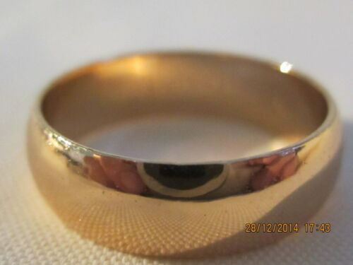 Lovely Rose Gold Filled Band Size 7