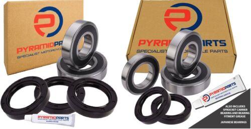 Front /& Rear Wheel Bearings /& Seals for Honda CBR600 F2 91-94