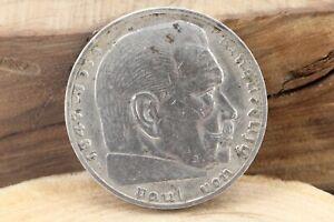 2-Reichsmark-1939-A-Paul-von-Hindenburg-1847-1934-Silbermuenze-A-Berlin-011