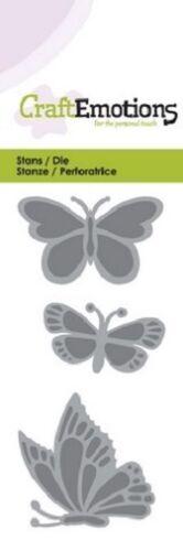SALE PRICE Craft Emotions Cutting Dies Spring 0145 Butterflies