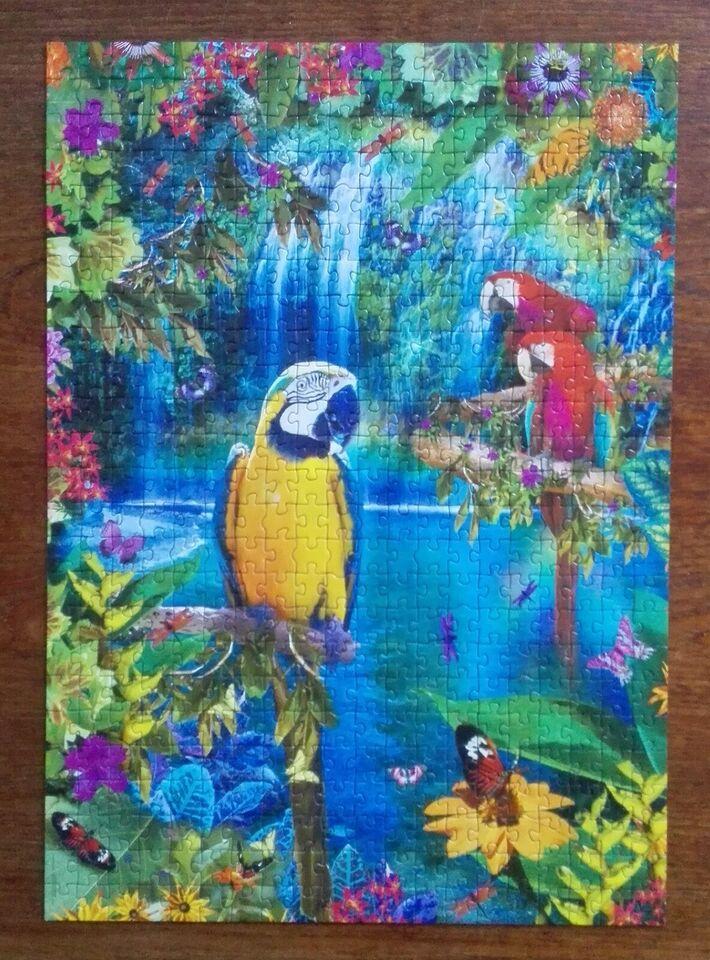 Bird Tropical, 500 brikker Educa, puslespil
