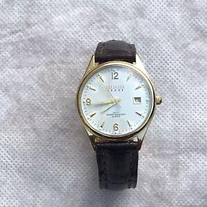 Mens-BERENGER-Steel-Quartz-Watch