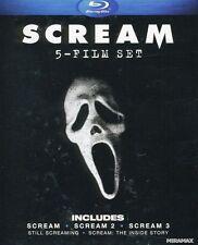 Scream: 5 Film Set [4 Discs] (2011, REGION A Blu-ray New) BLU-RAY/WS