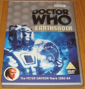 Doctor-Who-DVD-Earthshock-Excellent-Condition