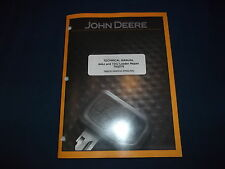 JOHN DEERE 644J 724J LOADER TECHNICAL SERVICE SHOP REPAIR MANUAL BOOK TM2076