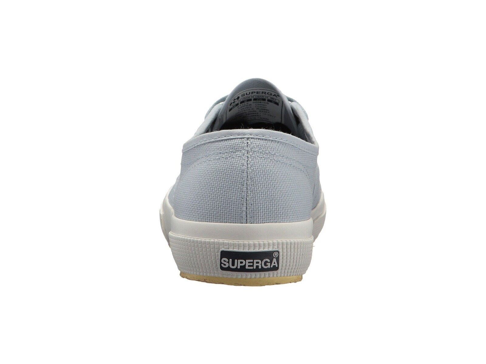 Superga 2750 Farbeeycotw Farbeeycotw Farbeeycotw  Lace-Up Sneaker Dusty Blau Größe US Damens 9.5/Men 8 260bdf