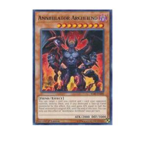 3 x Annihilator Archfiend 1st Edition IGAS-EN000 - Rare