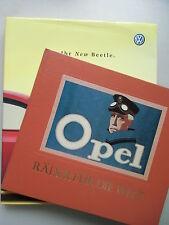 2 Bücher Opel Räder für die Welt VW Ihr New Beetle