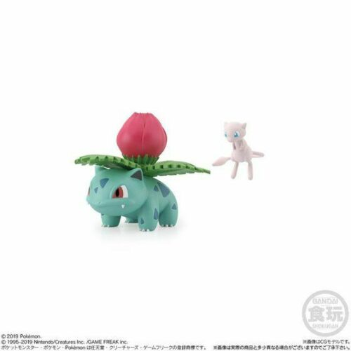 Kanto 1//20 Japan Fushigisou Pokemon Scale World Figure BANDAI Mew /& Ivysaur