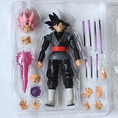 S.H.Figuarts Dragon Ball Z Goku Gokou Action Figure 6/'/'Black Super Saiyan Model