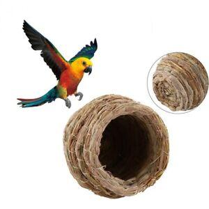 Pet-Supplies-Bird-House-Parrot-Straw-Nest-Bird-Nest-Straw-Cage-Breeding-Cave