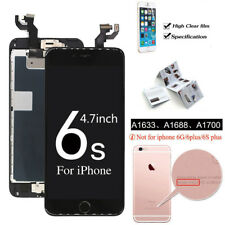 For Iphone 6s 47 Lcd Touch Screen Rose Gold Replacement With Button Camera