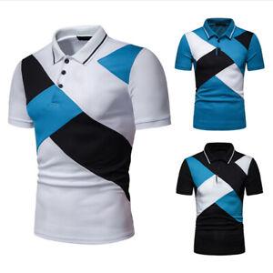 Fashion-Men-Slim-Fit-T-Shirts-Short-Sleeve-Casual-Plain-T-shirt-Tees-Tops