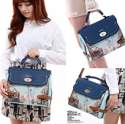 Hot New Fashion Vintage Women Messenger Bag Handbag Shoulder Bag Tote Purse