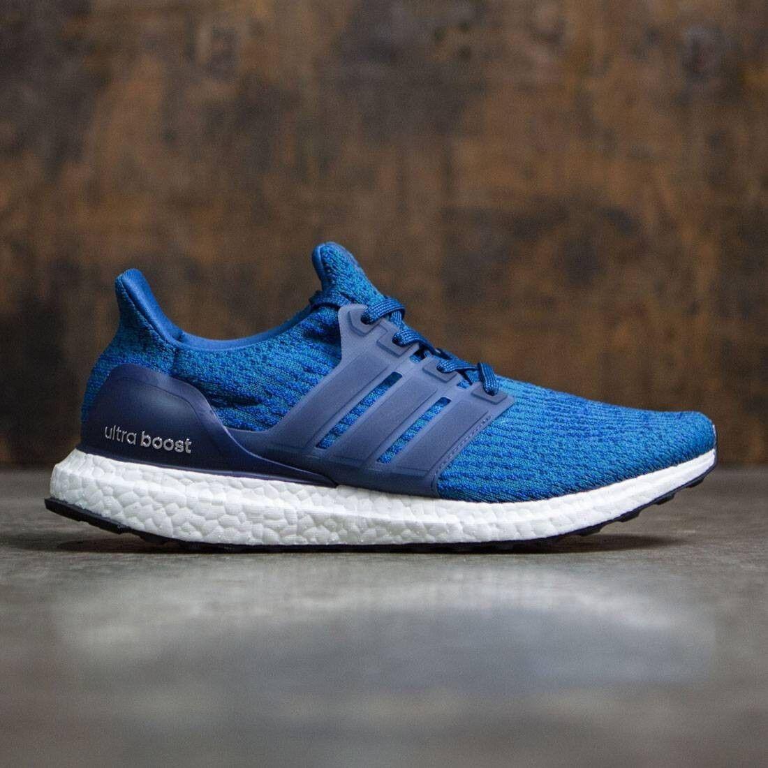 2018 Adidas Ultra Boost 3.0 Mystery Blue Size 14. BA8844 pk yeezy nmd