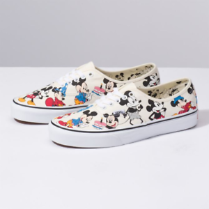 a08e66a3bf Disney X Vans Mickey s Birthday Authentic Shoe Mickey Mouse 90th ...