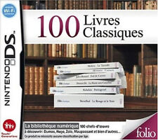 8740 // 100 LIVRES CLASSIQUES NINTENDO DS NEUF EN FRANCAIS