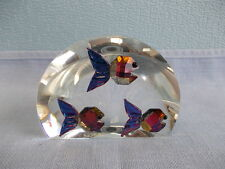 Nice crystal half boll ornament horoscoop Pieces - signed