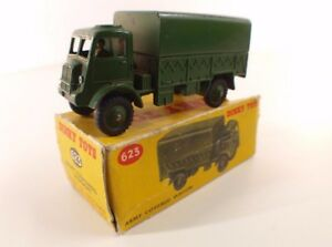 Dinky-Toys-GB-623-Army-covered-wagon-camion-bache-militaire-jamais-joue-en-boite