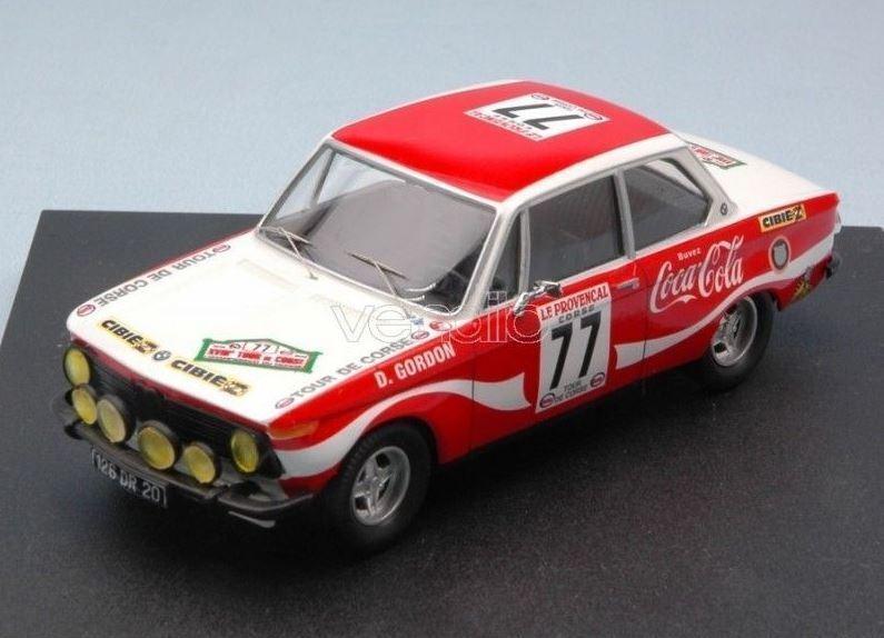 solo para ti BMW 2002 Ti - Coca-Cola - D. Gordon Gordon Gordon Gordon - Tour de Corse 1974  77 - Troféu  alto descuento