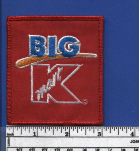 Vintage K-Mart Big K Patch