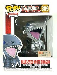 funko pop Animation #389 Yu-Gi-Oh Blue-Eyes White Dragon Exclusive Vinyl Figure