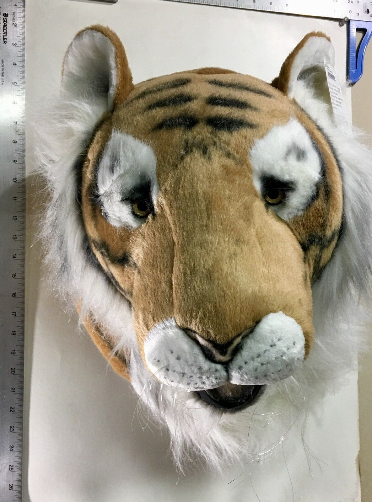 Large Tiger Head - Faux Faux Faux Taxidermy - Decoration Wall Hangings - Animal Heads 9a709a