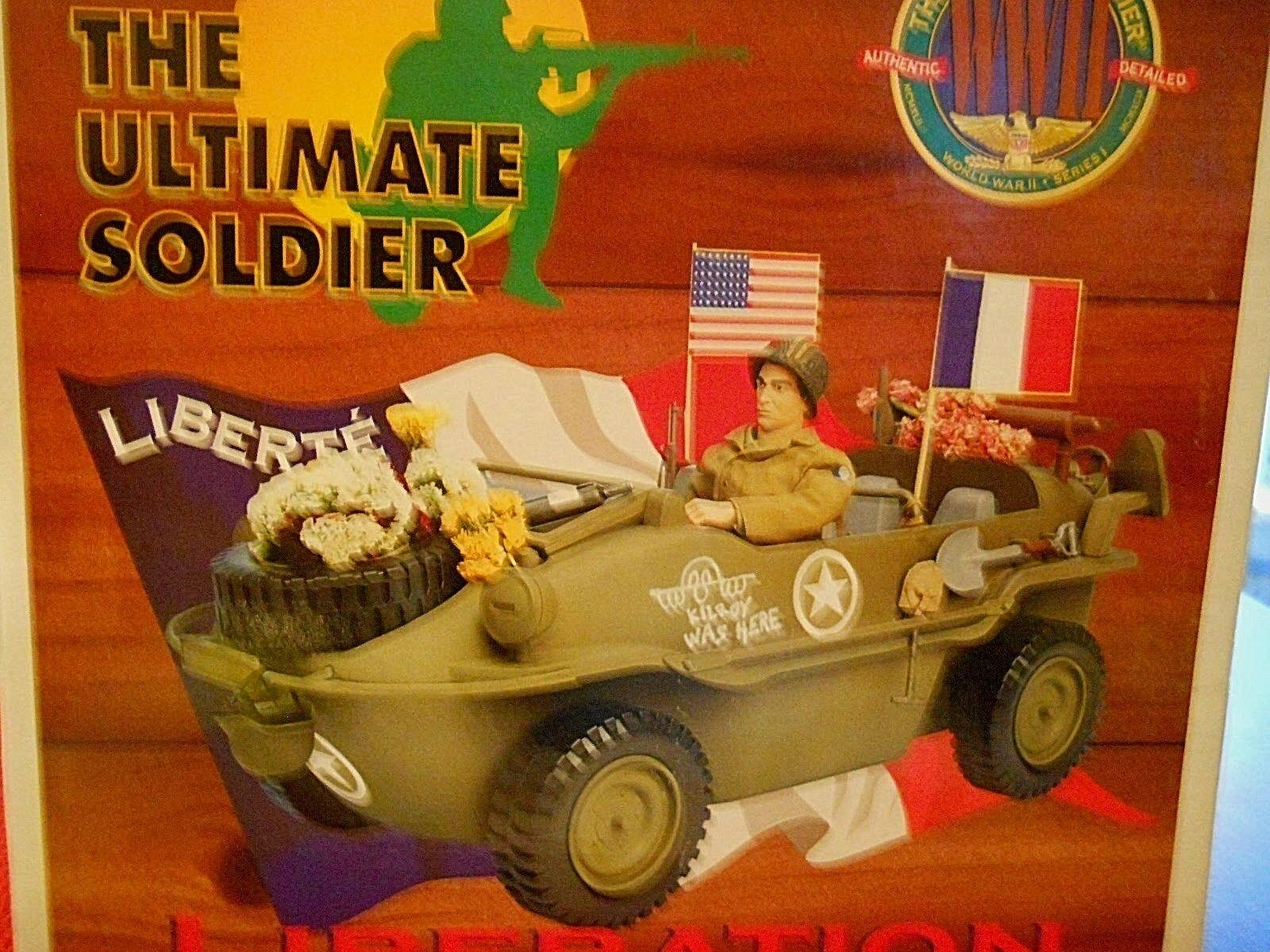 ULTIMATE SOLDIER 1 6 WWll LIBERATION OF PARIS  CAPTUrouge GERhomme SCHWIMMWAGEN  magasin discount
