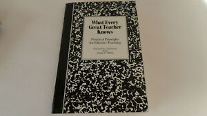 What Every Great Teacher Knows: Practical Principles for Effective Teaching