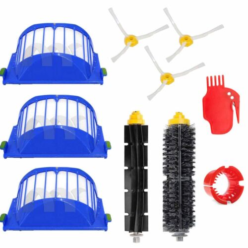 Replacement Part Kit For iRobot Roomba 650 620 600 Serie Vacuum Filter Brush