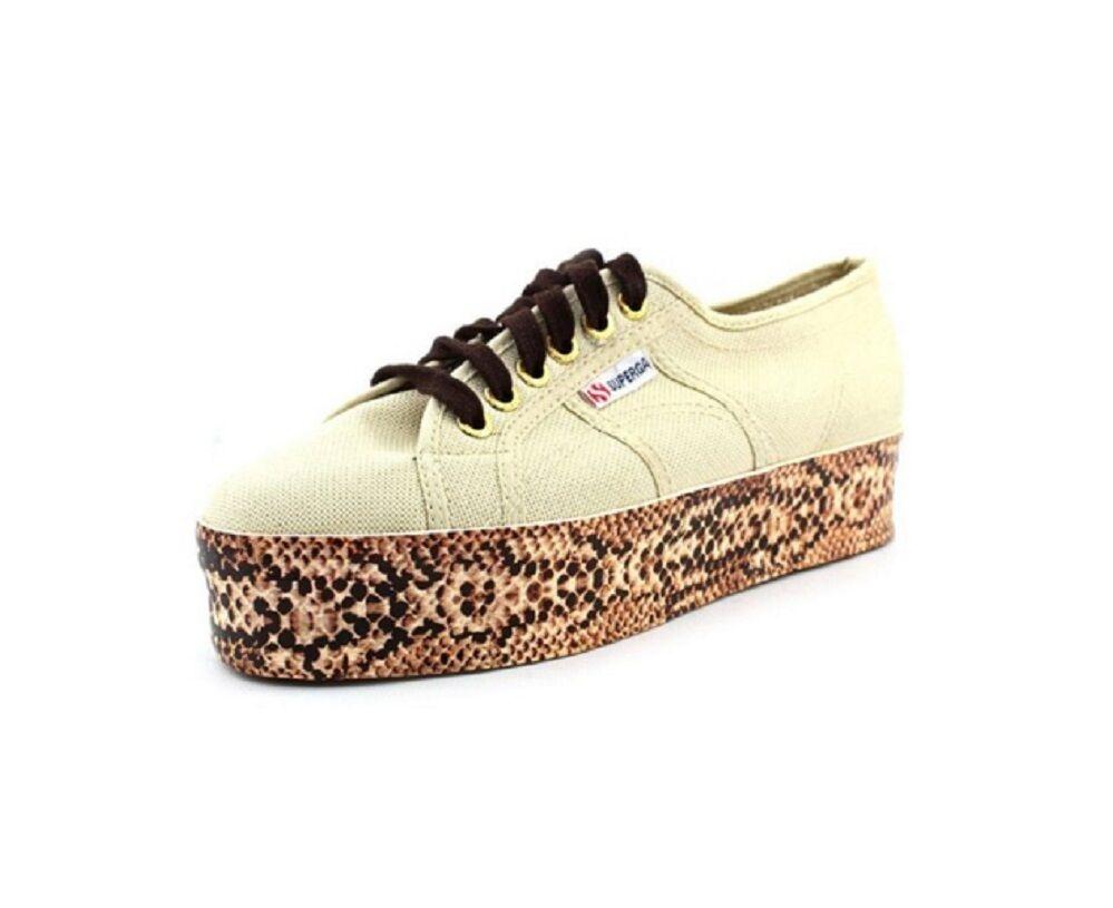 Superga Women's 2790 Viper Foxing COTW Platform Sneakers Size 9.5