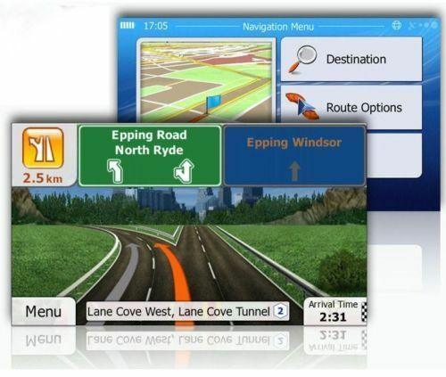 GPS Maps Micro SD Card North America Map USA Canada Mexico WinCE Free Shipping