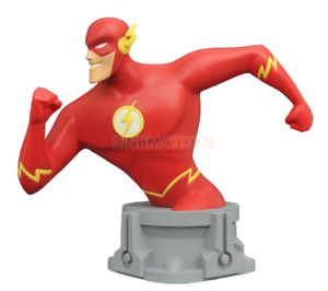 Batman & Justice League Animated Series THE FLASH Resin Bust SDCC 2017 limited
