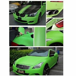 20 x 50 green carbon fiber vinyl wrap stickers car interior accessorie panel 4683812989884 ebay. Black Bedroom Furniture Sets. Home Design Ideas