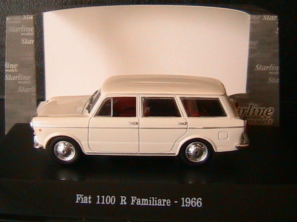 FIAT 1100R FAMILIARE FAMILIARE FAMILIARE blanc AVORIO 1966 STARLINE 511025 1 43 BREAK SW BLANC 893aff