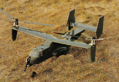 Templates and Instructions 33ws 1//16 Scale Osprey Autogyro Plans