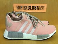 Adidas NMD R1 W Vapour Pink Light Onix Grey Women's Nomad Runner BY3059 LIMITED