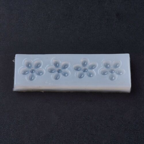 1550 1 unidades de silicona forma Mold flores artesanía abformen