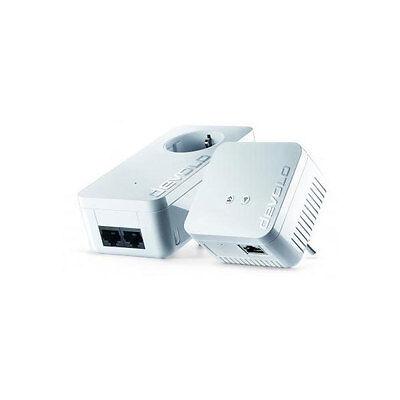 Devolo dLAN 550 WiFi Starter Kit Powerline 500 Mbit/s WLAN Repeater Steckdose