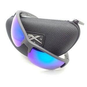 b97ba8f5cf2 Wiley X CHSAI29 Saint Matte Black Blue Mirror Polarized New ...