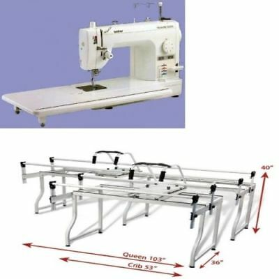Brother Pq1500sl Mid Arm And Grace Queen Sr2 Frame Combo