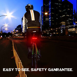 Super-luminoso-USB-ricaricabile-6-modalita-26-LED-Spia-anteriore-posteriore-bici