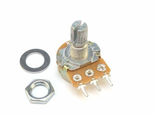 100K 16mm Logarítmico Potenciómetro Pote De Soldadura Lugs