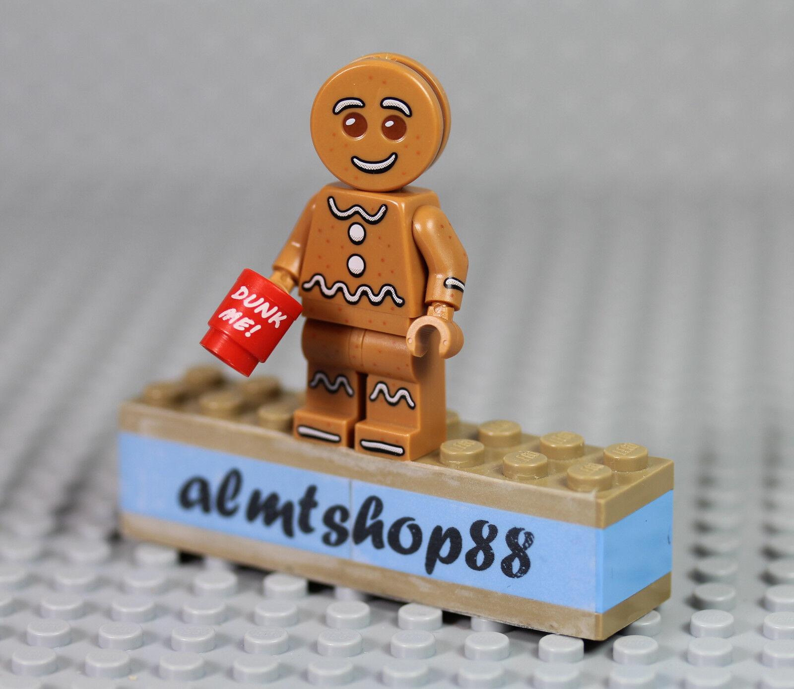 LEGO Series 11 XMas - Gingerbread Man 71002 Minifigure (from keychain) XMas 11 Coffe Mug ef2a8d