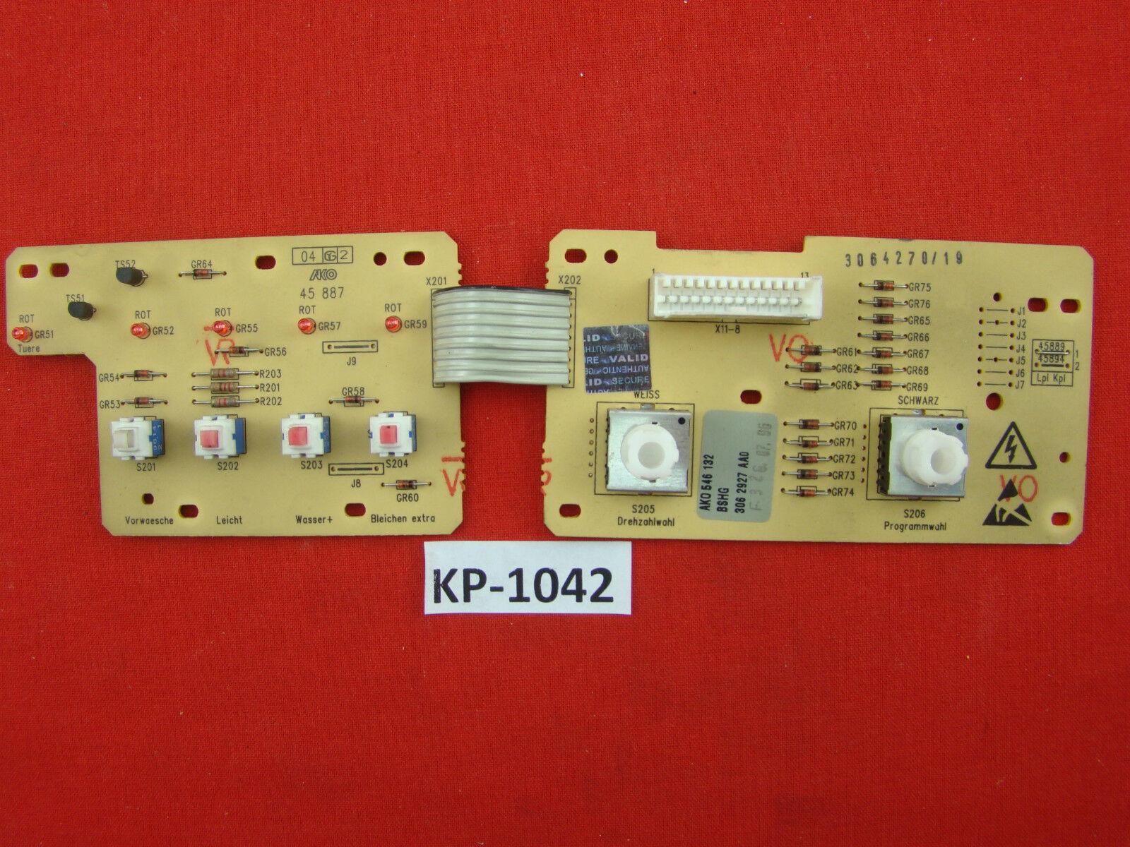 Lavadora siwamat 5100 Siemens, número electrónico  wm51000   01, 306 2927 aa0 y 35repas KP - 1042
