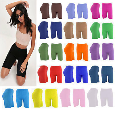 Womens Super Soft Cotton Shorts UK Size 8-28