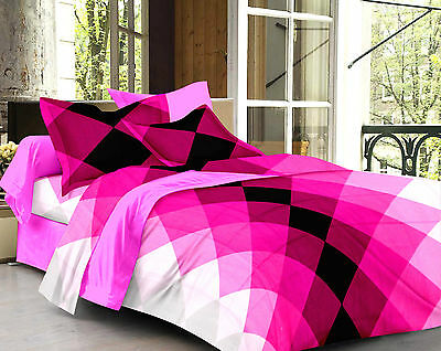 Story @ Home 100% Cotton 120 TC Double Bed Sheet With 2 Pillow Cover  - CN1270