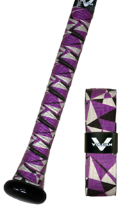 VULCAN-ADVANCED-POLYMER-BAT-GRIPS-STANDARD-1-75-MM-PURPLE-NIGHT