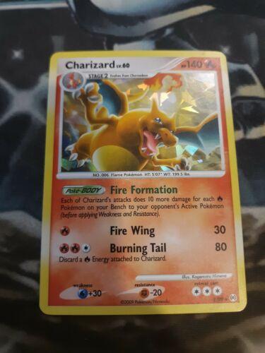 Charizard 1/99 Arceus Set Pokemon Card Cracked Ice Holo Rare VLP